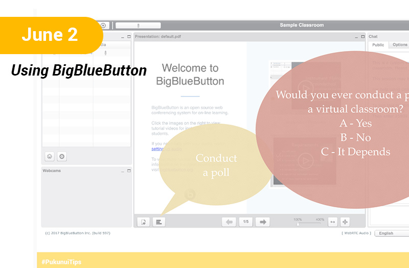 Using BigBlueButton